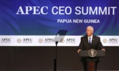 Vice President Mike Pence at the 2018-APEC CEO Summit.
