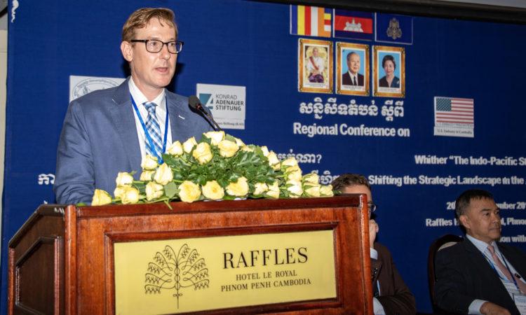 Chargé D'Affaires Michael Newbill